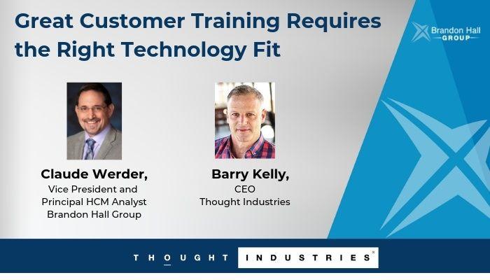 2018 Customer Training Webinar with Brandon Hall Group