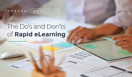 Dos and Donts of Rapid eLearning
