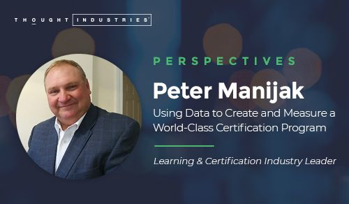 Using Data to Create and Measure Certification Program