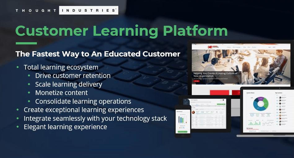 Value of a customer learning platform for LTV